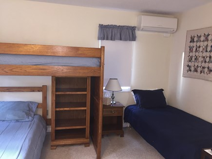 Ocean Edge, Brewster Cape Cod vacation rental - Second view of bunk room with additional twin bed