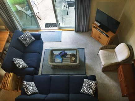 Ocean Edge, Brewster Cape Cod vacation rental - Living room view from loft