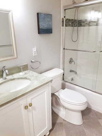 Ocean Edge Cape Cod vacation rental - Brand new master bathroom with hand held shower