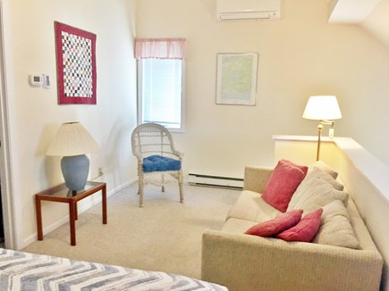 Brewster Cape Cod vacation rental - Loft area adds extra living space w/queen bed and couch