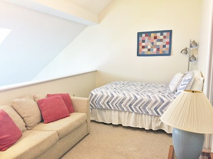 Brewster Cape Cod vacation rental - Looking into loft area w/door entrance into second bedroom