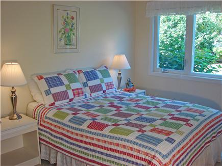 Brewster Cape Cod vacation rental - Master BR w/queen (new mattress) & TV on 1st floor