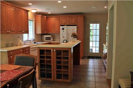 Falmouth, Sippewissett Cape Cod vacation rental - Fully equipped eat-in Kitchen with new appliances, Wolf stove top