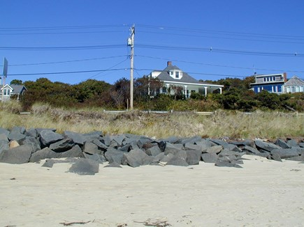 Provincetown, East End Cape Cod vacation rental - Looking at Grand View from the beach below