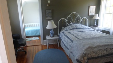 Provincetown, East End Cape Cod vacation rental - 3rd bedroom with queen size bed