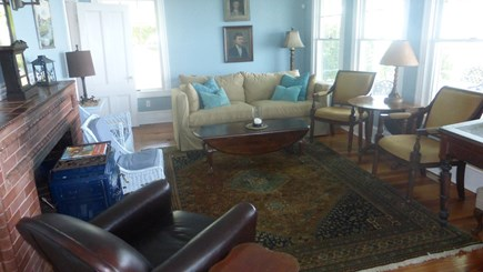 Provincetown, East End Cape Cod vacation rental - East end of spacious living room