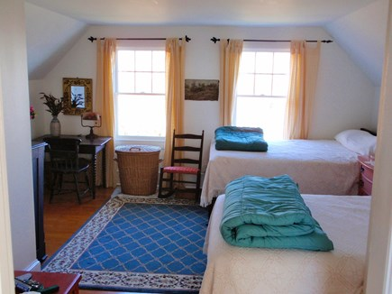 Provincetown, East End Cape Cod vacation rental - 2nd bedroom with 1 queen and 1 double bed