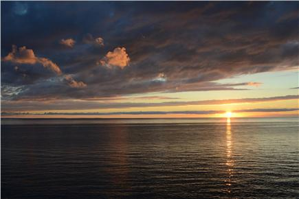 North Eastham Cape Cod vacation rental - Front row sunset view