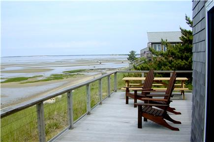 North Eastham Cape Cod vacation rental - Waterfront deck