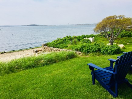 Monument Beach / Bourne Cape Cod vacation rental - Your own personal beach is only a few steps from the porch.