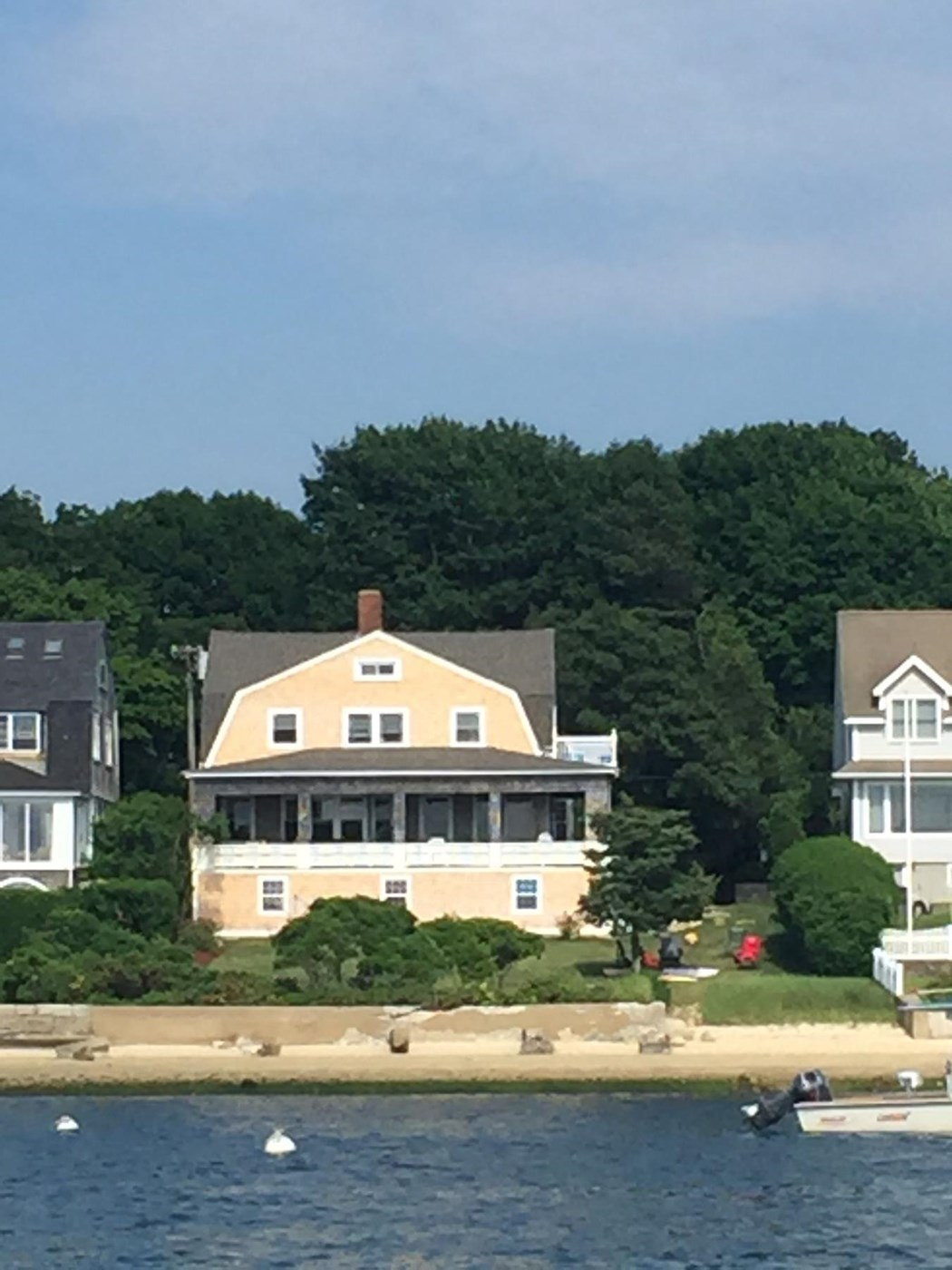 Bourne Vacation Rental home in Cape Cod MA 02553, on private beach ...