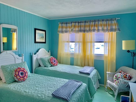 Monument Beach / Bourne Cape Cod vacation rental - Water view, twin bedroom.
