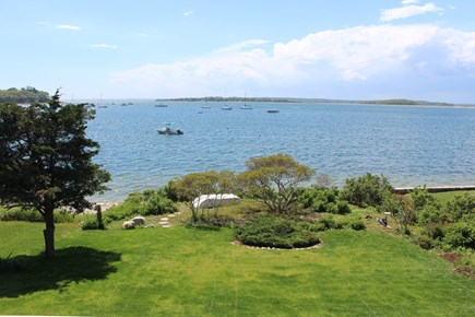 Monument Beach / Bourne Cape Cod vacation rental - View of water from the porch.