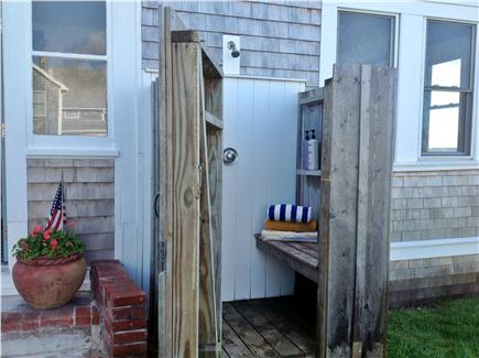 West Yarmouth Cape Cod vacation rental - Shower in the great outdoors.