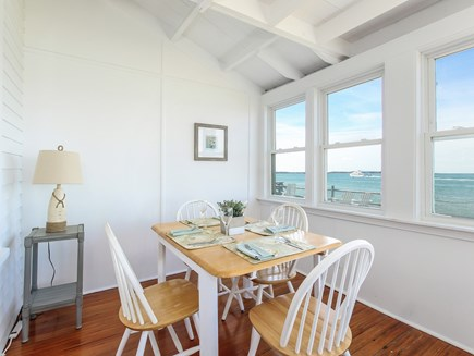 West Yarmouth Cape Cod vacation rental - Superb dining spot with a great view