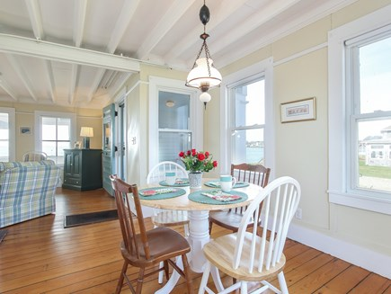 West Yarmouth Cape Cod vacation rental - Dining and part of living room.