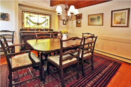 South Orleans Cape Cod vacation rental - Dining room