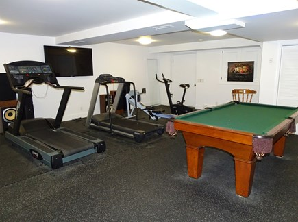 Wellfleet Cape Cod vacation rental - Work out area with pool table