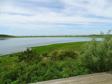 Wellfleet Cape Cod vacation rental - The Herring Cove House is all about the view!