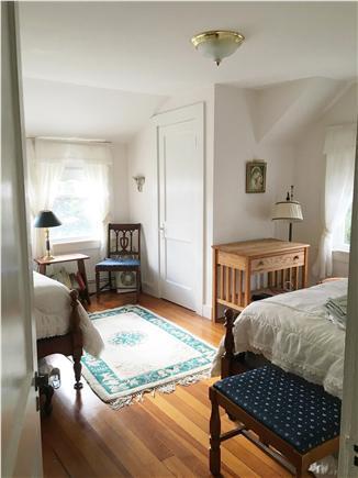 Dennis Port Cape Cod vacation rental - Twin Bedroom Across from Master Bedroom