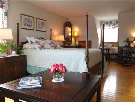 Kingston Bay/Near Plymouth MA vacation rental - Gorgeous Master with sitting area, bath, skylight and ocean views