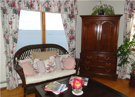 Kingston MA vacation rental - Sitting area in Master bedroom, wide ocean views