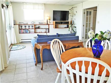 Kingston MA vacation rental - Lower suite with 50'' flat-screen tv/dvd player