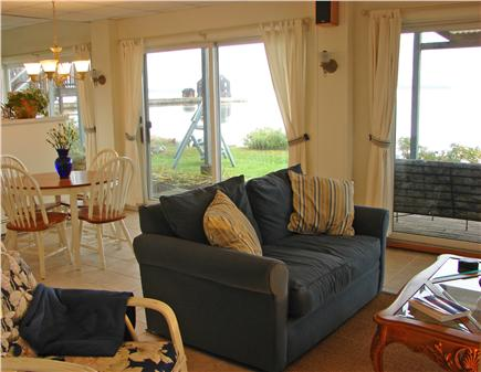 Kingston Bay/Near Plymouth MA vacation rental - Charming one bedroom suite downstairs - all ocean views