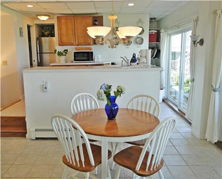 Kingston MA vacation rental - Cozy dining area in suite will full kitchen overlooking the ocean
