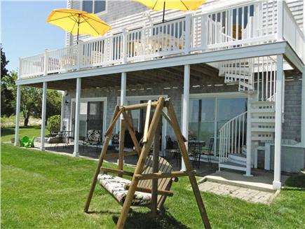 Kingston MA vacation rental - Relax on the Patio. There is plenty of seating for everyone.