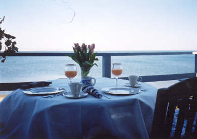 Kingston MA vacation rental - Enjoy breakfast on the deck watching the sunrise