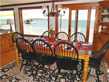 Kingston Bay/Near Plymouth MA vacation rental - Enjoy your meals while overlooking the ocean