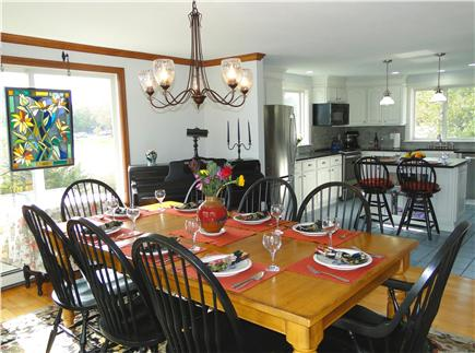 Kingston MA vacation rental - Open, bright living and dining areas