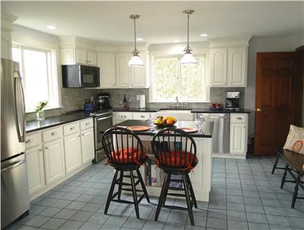 Kingston Bay/Near Plymouth MA vacation rental - Large cozy fully updated kitchen with all amenities.