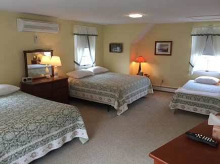 West Dennis Cape Cod vacation rental - Bedroom Suite w/private bath w/shower - king, queen & twin.