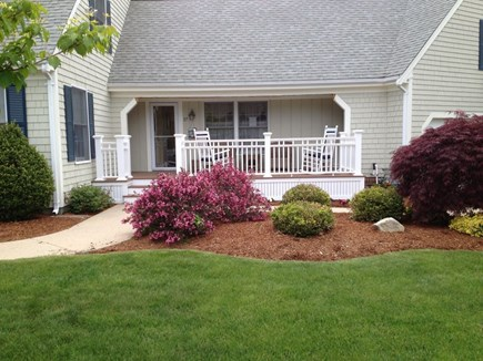 West Dennis Cape Cod vacation rental - Relax on the welcoming front porch