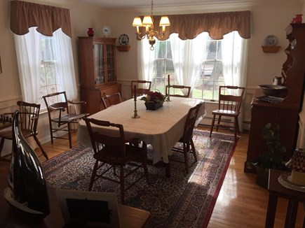 West Dennis Cape Cod vacation rental - Lovely Formal Dining room adjacent to living room (seats 8)
