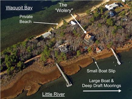 Falmouth, Waquoit Cape Cod vacation rental - Aerial view of the Wolery
