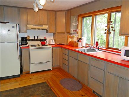 Falmouth, Waquoit Cape Cod vacation rental - Spacious kitchen