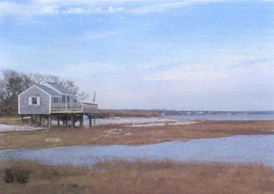 Barnstable, Cummaquid Cape Cod vacation rental - Cottage on the beach