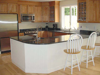 Barnstable, Cummaquid Cape Cod vacation rental - The kitchen is brand new and a dream to cook in!