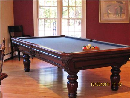Barnstable, Cummaquid Cape Cod vacation rental - Regulation size pool table in Family room