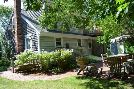 Hyannis Cape Cod vacation rental - Great patio for cook outs