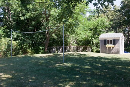 Hyannis Cape Cod vacation rental - Yard good for volleyball or badminton