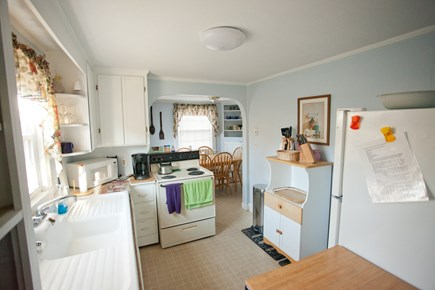 Falmouth Cape Cod vacation rental - Kitchen looking into dining room