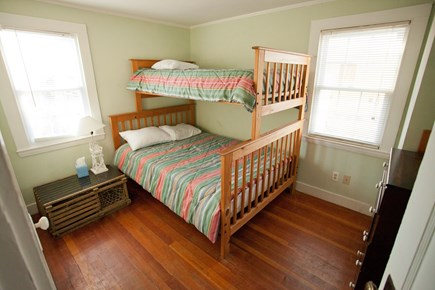 Falmouth Cape Cod vacation rental - Second bedroom with twin over double bunk beds