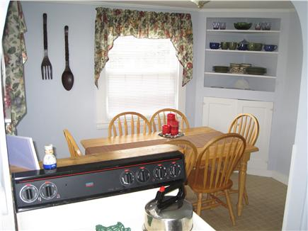 Falmouth Cape Cod vacation rental - Kitchen and dining area