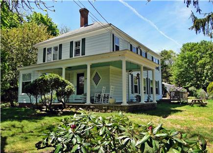 Harwich Cape Cod vacation rental - Large home across the street from Long Pond, water views
