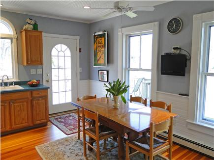 Harwich Cape Cod vacation rental - Kitchen with vaulted ceilings, TV