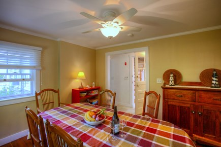 Hyannis Cape Cod vacation rental - Dining room seats 8-10 friends & family.